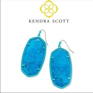 Kendra Scott Danielle Matte Statement Earrings